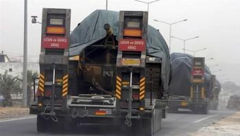 Thổ Nhĩ Kỳ ồ ạt triển khai binh lực dọc biên giới với Syria