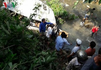Lai Châu tăng cường xử lý vi phạm giao thông sau tai nạn thảm khốc