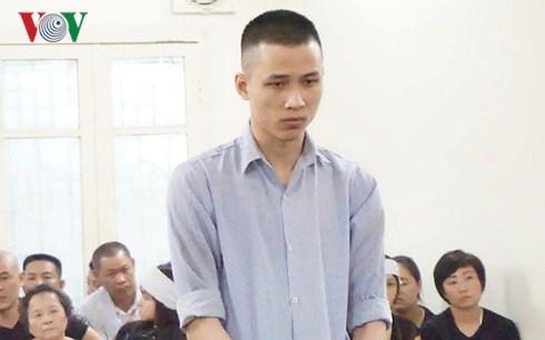 Tuyên án nam thanh niên giết người, cướp tài sản ở chung cư Hà Nội