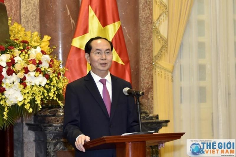 Nhìn lại quá trình công tác của Chủ tịch nước Trần Đại Quang