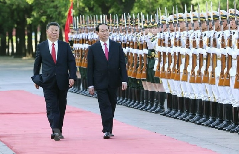 Những chuyến công du nước ngoài của Chủ tịch nước Trần Đại Quang