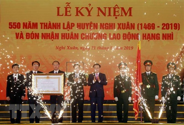 Hà Tĩnh tổ chức lễ kỷ niệm 550 năm thành lập huyện Nghi Xuân