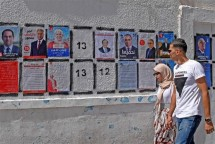 tunisia ban bo lenh gioi nghiem truoc cuoc bau cu tong thong