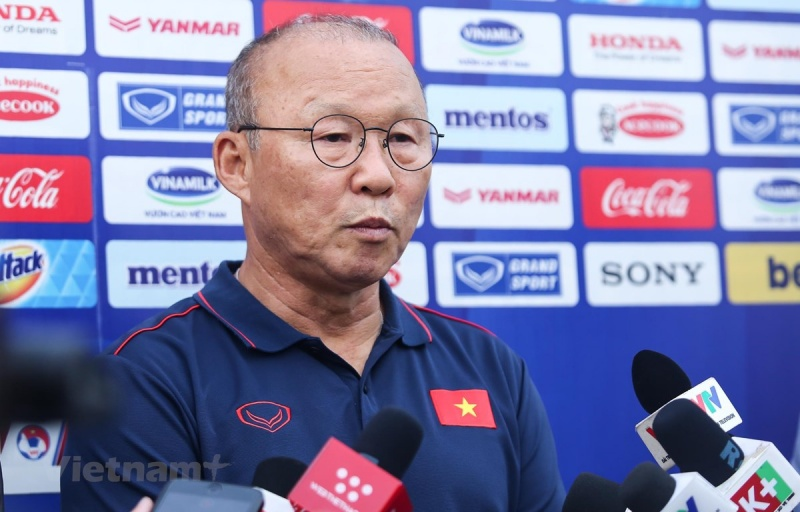 HLV Park Hang-seo: Thật may vì U23 Việt Nam không gặp U23 Hàn Quốc