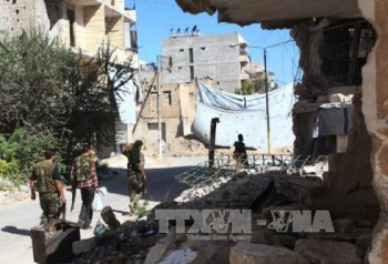 syria quan doi ra toi hau thu cho phe noi day o aleppo