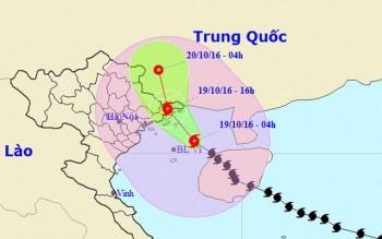 Bão số 7 cách Quảng Ninh - Hải Phòng 140 km