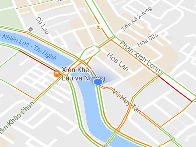 google maps co them tinh nang thong bao tinh trang giao thong tai viet nam