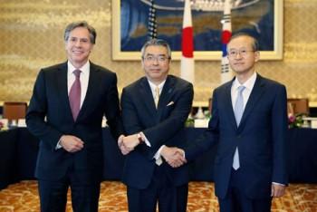 Mỹ, Nhật, Hàn thảo luận về các biện pháp trừng phạt Triều Tiên