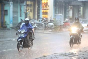 Ảnh hưởng không khí lạnh, nhiều nơi tiếp tục có mưa lớn