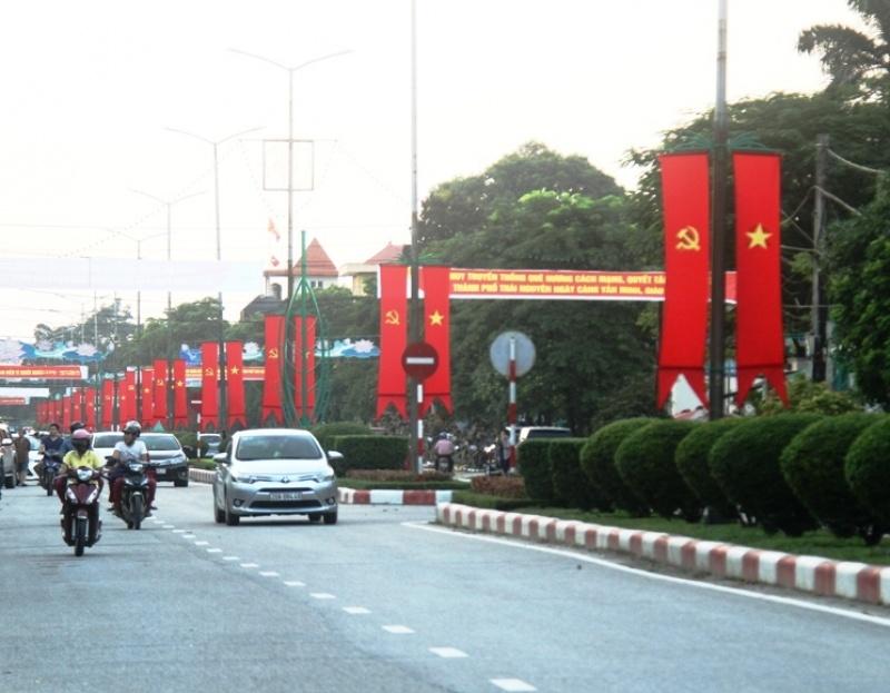 Người dân Thái Nguyên hướng tới ngày Kỷ niệm 55 năm thành lập thành phố Thái Nguyên