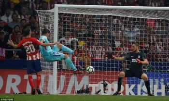 Hòa Atletico, Barcelona chấm dứt mạch toàn thắng ở La Liga