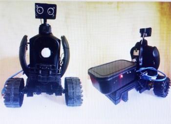 Nữ sinh Sóc Trăng sáng tạo robot an ninh