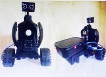 nu sinh soc trang sang tao robot an ninh