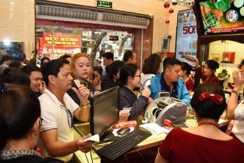 Hai thương hiệu vàng trong nước giảm mạnh tới 550.000 đồng mỗi lượng