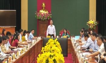 Đoàn công tác Bộ Y tế thăm và làm việc tại Thái Nguyên