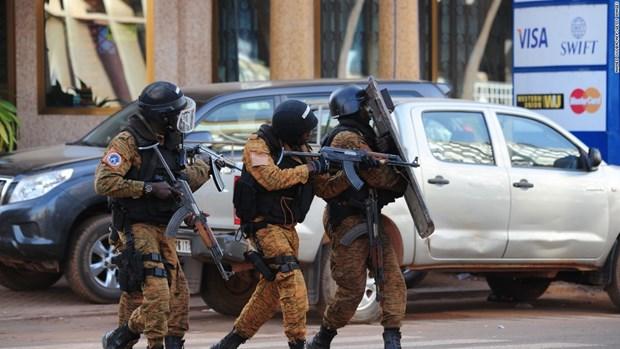 Xả súng liên tiếp khiến 14 người thiệt mạng tại Burkina Faso