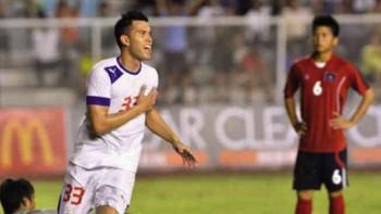 Chê thưởng ít, ngôi sao của bóng đá Philippines không dự AFF Cup