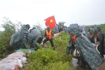 Bộ Tổng tham mưu gửi điện khẩn triển khai phòng, chống bão số 9