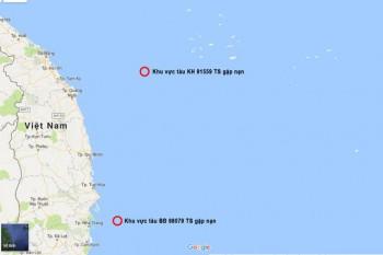 24 ngư dân gặp nạn trên đường đi của tâm bão số 12