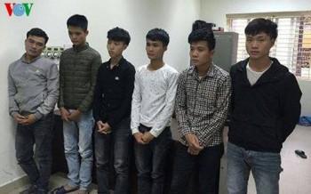 Bắt 5 đối tượng hỗn chiến sau va chạm giao thông ở Hà Nội