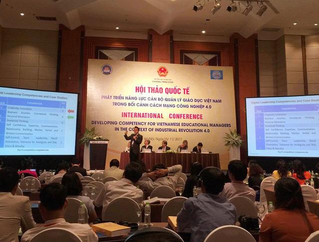 """""""Thời đại 4.0, giáo dục Việt đang đâu đó ở giai đoạn… 2.0"""""""