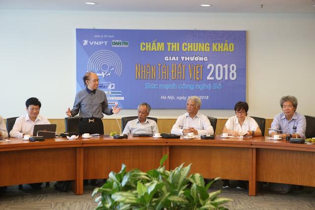 cham chung khao nhan tai dat viet 2018 thi sinh bi quay nhu chong chong