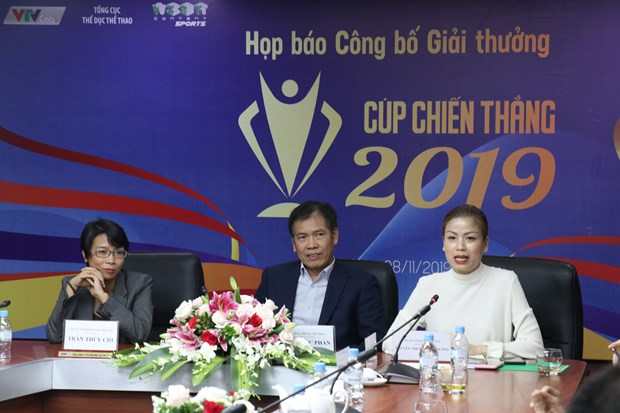 giai thuong cup chien thang 2019 ton vinh the thao viet nam