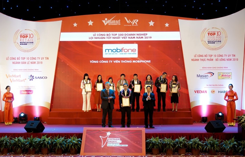 mobifone lot top 500 doanh nghiep co loi nhuan tot nhat nam 2019