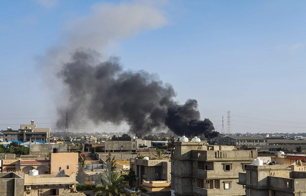 libya quan doi mien dong khong kich luc luong chinh phu
