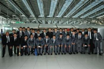 Thái Lan có mặt tại Yangon, sẵn sàng cho trận đấu với Myanmar