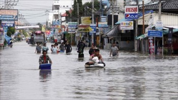 Thái Lan: 11 người chết do lũ lụt ở miền Nam