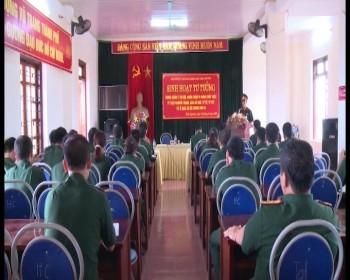 Lực lượng vũ trang T.P Thái Nguyên gắn công tác xây dựng Đảng với phong trào thi đua