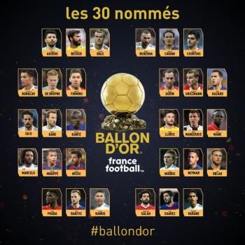 Đêm nay trao giải Quả bóng vàng 2018: Sự thống trị của C.Ronaldo, Messi chấm dứt?