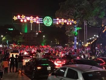 nguoi dan thai nguyen mung chien thang cua doi tuyen viet nam tai aff cup 2018
