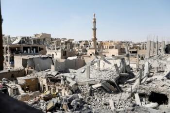 Liên quân do Mỹ đứng đầu phá hủy trung tâm đầu não cuả IS tại Syria
