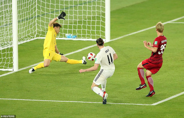 bale lap hattrick real madrid tien vao chung ket fifa club world cup