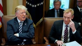 Ông Trump đưa Thứ trưởng Shanahan lên thay Bộ trưởng Mattis từ 1/1 tới