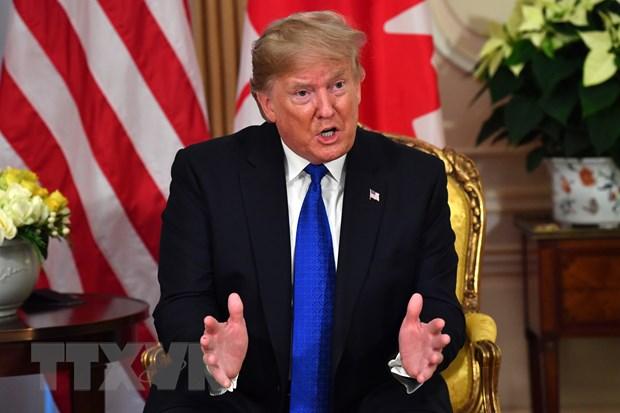 Tổng thống Mỹ hủy buổi họp báo sau khi kết thúc Hội nghị NATO