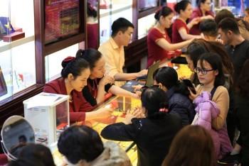 Giá vàng SJC giảm nhẹ, giao dịch quanh mức 41,42 triệu đồng