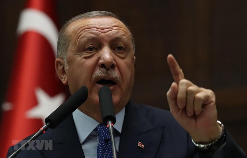 tong thong tho nhi ky erdogan doa dong cua 2 can cu my