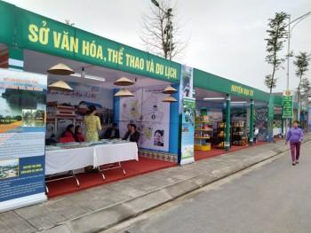 Triển lãm Trưng bày, giới thiệu các thành tựu kinh tế - xã hội của tỉnh Thái Nguyên