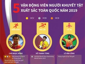 5 van dong vien nguoi khuyet tat xuat sac toan quoc nam 2019