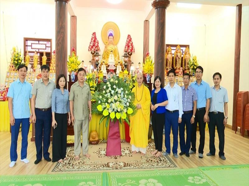 Thăm, chúc mừng Đại lễ Phật Đản 2020