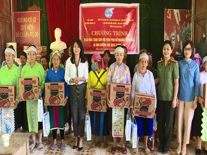 phu nu cong an tinh thai nguyen huong ve co so chung suc cung cong dong