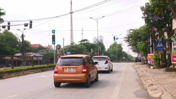 Bất cập tại vị trí đèn báo hiệu giao thông phường Lương Sơn, thành phố Sông Công