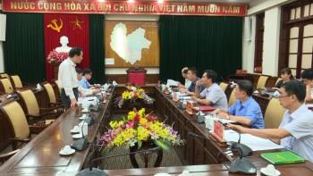 doan cong tac thanh tra chinh phu lam viec tai thai nguyen