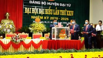 Khai mạc Đại hội Đại biểu Đảng bộ huyện Đại Từ lần thứ XXIV, nhiệm kỳ 2020-2025