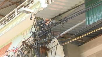 Đảm bảo an toàn lưới điện trong mùa mưa bão