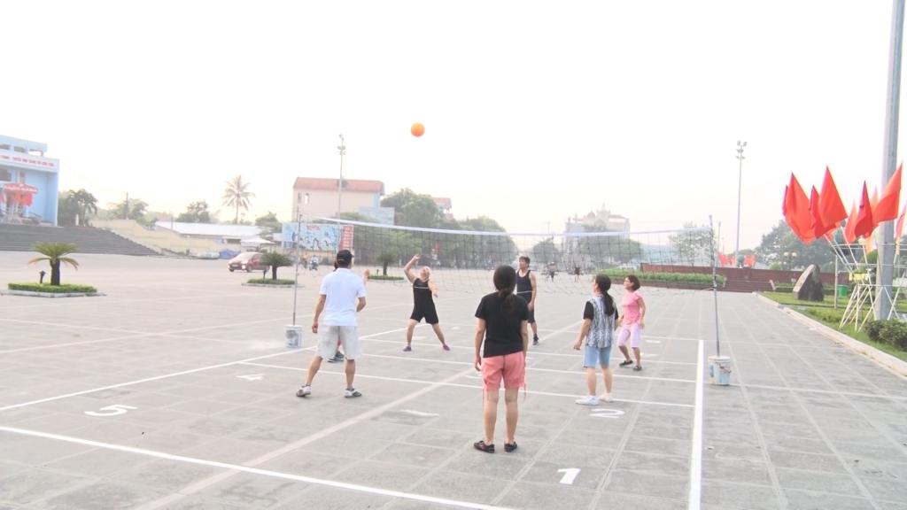 群众体育运动的活跃