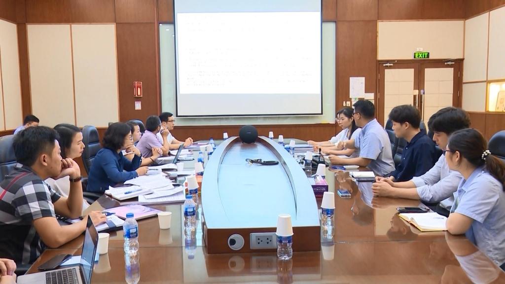 政府办公室工作团在太原省进行工作会谈